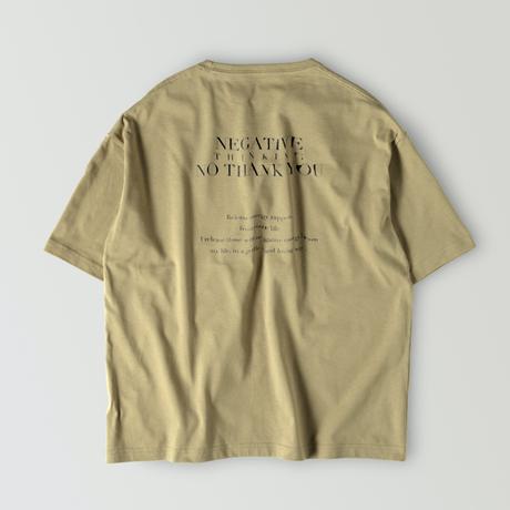 【再販】POSITIVE  T-shirt  / Khaki