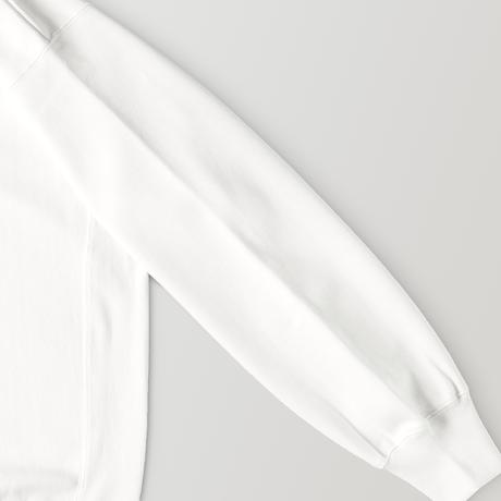 C R E A T O R sweat hoodie / WHITE