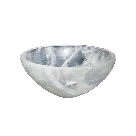 Clear Quartz Bowl / INDIA
