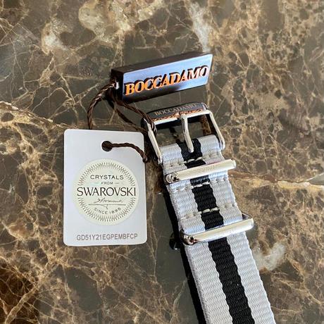 ハートチャームウォッチ (MY012) スワロフスキークリスタル