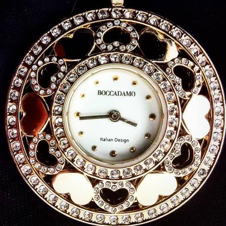 TIME IS LOVE ペンダントウォッチ (TL009) スワロフスキークリスタル