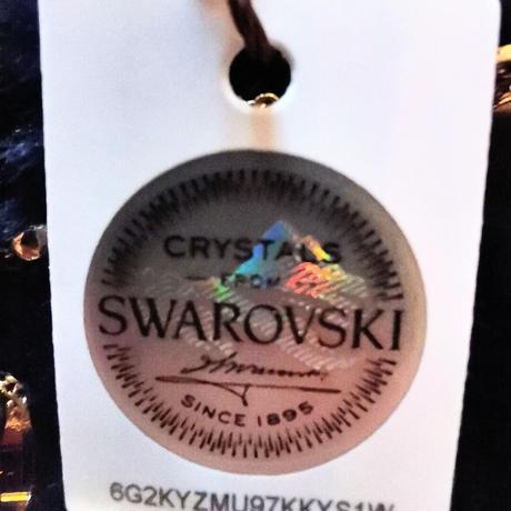 FOCUS エレガントウォッチ イエローゴールドカラー (FC002) スワロフスキークリスタル