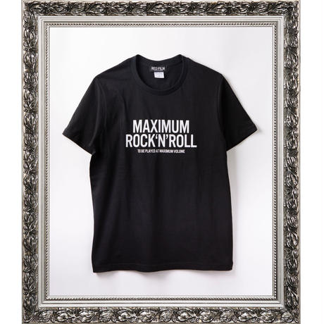 MAXIMUM ROCK'N'ROLL (BLACK)