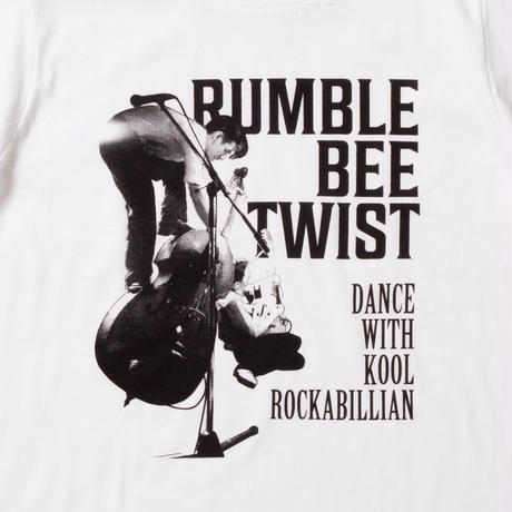 RUMBLE BEE TWIST (WHITE)