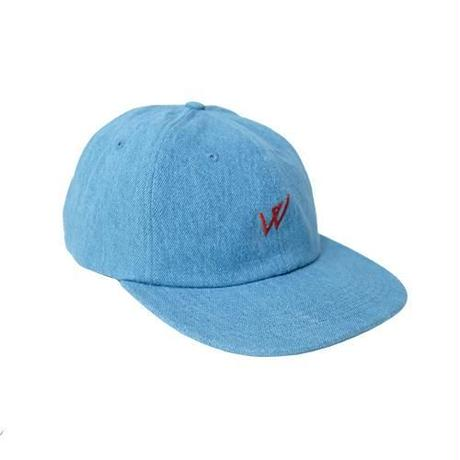 WAYWARD LONDON WALPHY SPORTS CAP DENIM STONEWASH