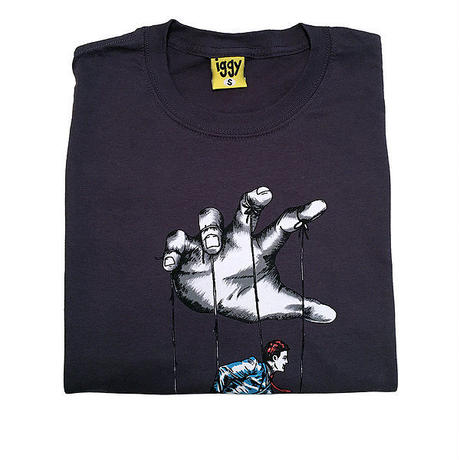 IGGY FOOTLOOSE tee Dark grey