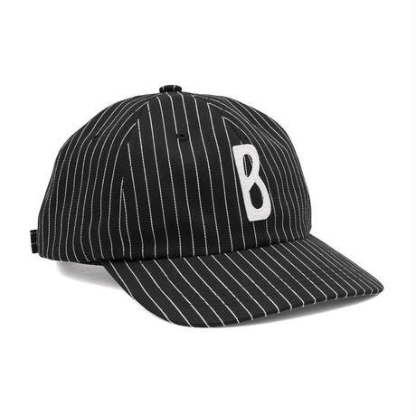 BRONZE TRIPPY B HAT BLACK