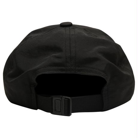 GRAND COLLECTION G SCRIPT NYLON CAP BLACK