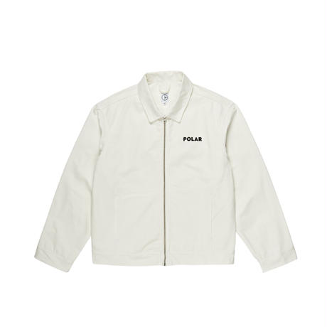 POLAR SKATE CO. NOTES DENIM JACKET IVORY