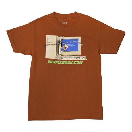 BRONZE56K COMPUTER TEE TEXAS ORANGE