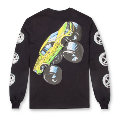 LIFE'S A BEACH LAB Monster Long Sleeve Black