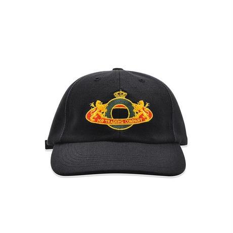POP TRADING CO ROYAL O 6 PANEL HAT BLACK