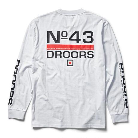 DROORS NO 43 LS - WHITE