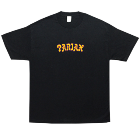 COME SUNDOWN PARIAH EMBROIDERED S/S TEE BLACK