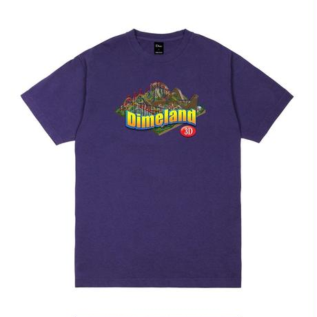 DIME DIMELAND 3D T-SHIRT Purple