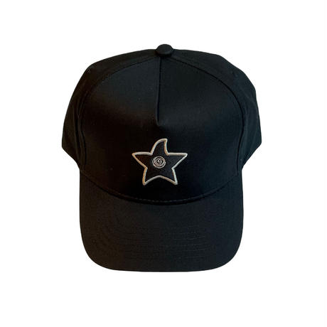 HOMIES NETWORK STAR CAP BLACK/BLACK
