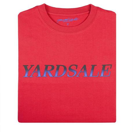 YARDSALE Fade T-shirt Red