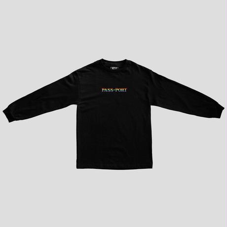 PASS~PORT - PRIDE OFFICIAL LONG SLEEVE BLACK