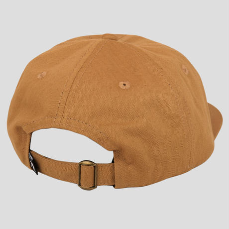 PASS~PORT QUILL PATCH 6 PANEL CAP TAN