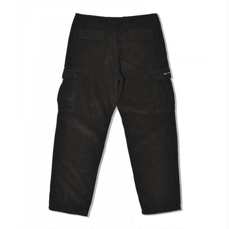 POP TRADING CARGO PANT BLACK CORD