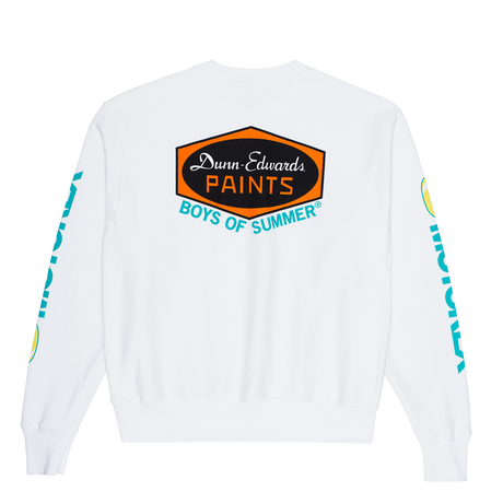 Boys Of Summer DUNN EDWARDS CREWNECK SWEATSHIRT White