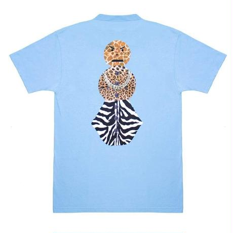 QUARTER SNACKS Safari Snackman Charity Tee — Carolina Blue