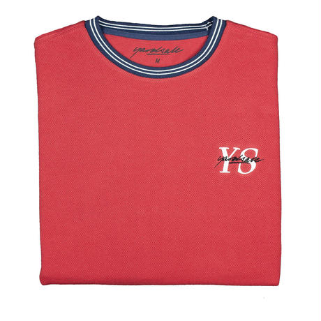 YARDSALE Polo YS T-shirt Cardinal