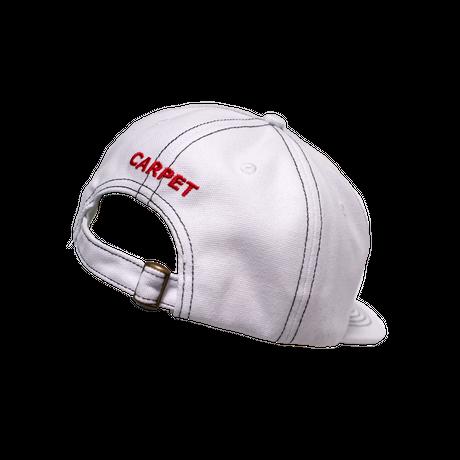 CARPET COMPANY C-STAR HAT WHITE