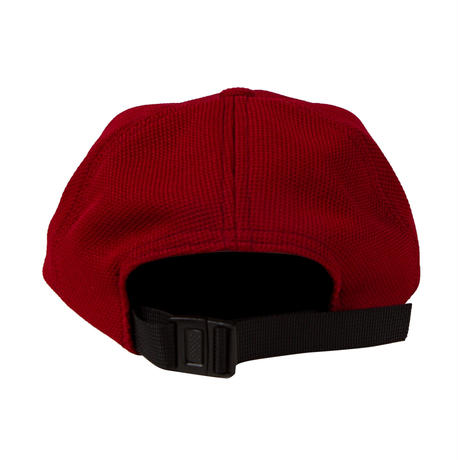 GRAND COLLECTION G SCRIPT KNIT CAP BURGUNDY