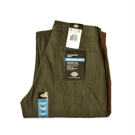 Dickies Relaxed Fit Straight Leg Carpenter Duck Jean - RMS