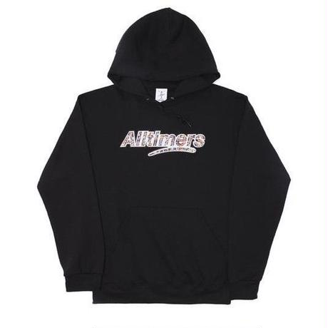 ALLTIMERS CROWD LOGO HOODY BLACK