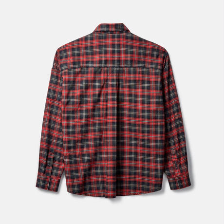 RASSVET  Flannel Shirts Red