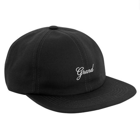 GRAND COLLECTION SCRIPT CAP BLACK