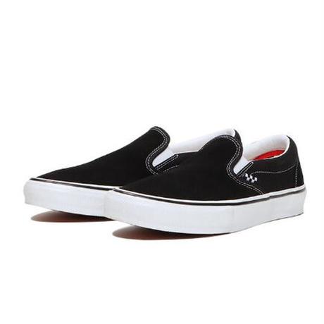 VANS SKATE CLASSICS SLIP-ON BLACK/WHITE