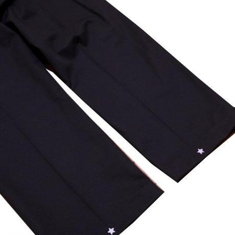 PEELS  STAR LOGO WORK PANTS BLACK