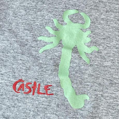 CASTLE SCORPION TEE GREY