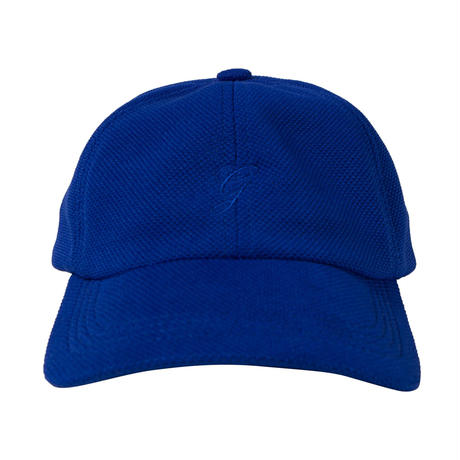 GRAND COLLECTION G SCRIPT KNIT CAP ROYAL