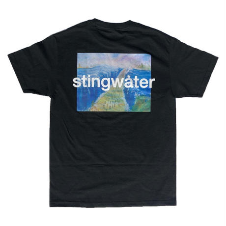 STING WATER Moses T Shirt Black