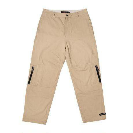BRONZE56K ZIP TECH PANTS STONE KHAKI