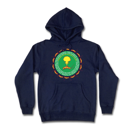 COME SUNDOWN COLLAPSE HOODIE NAVY