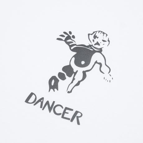 DANCER OG TEE WHITE WITH REFLECTIVE