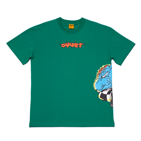 CARPET COMPANY FATSMACK TEE GREEN
