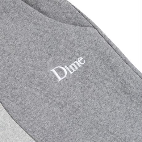 DIME WAVY 3-TONE SWEATPANTS HEATHER