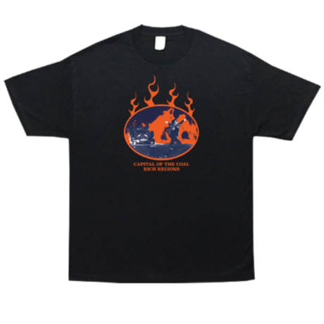 COME SUNDOWN COAL RICH S/S TEE BLACK