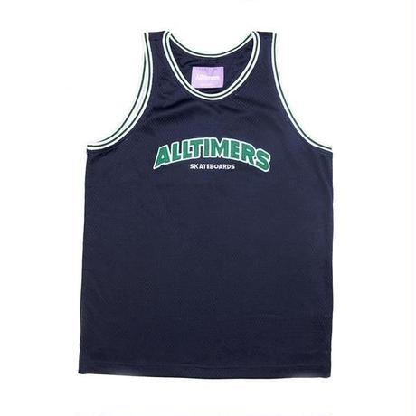 ALLTIMERS LIL' TROY BASKETBALL JERSEY NAVY