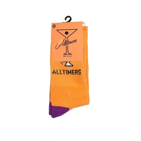 ALLTIMERS ACTION LOGO ORANGE/NAVY