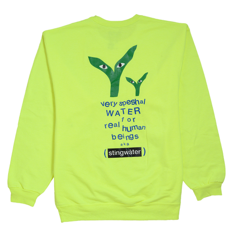 STINGWATER Groe Together Safe Green Sweater