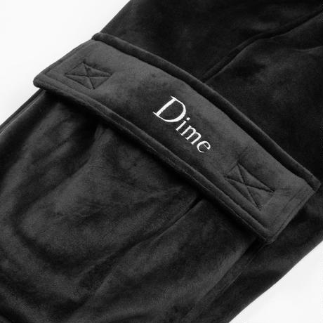 DIME VELOUR CARGO PANTS Grey