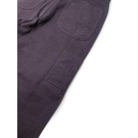 QUASI UTILITY PANT FADED BLACK