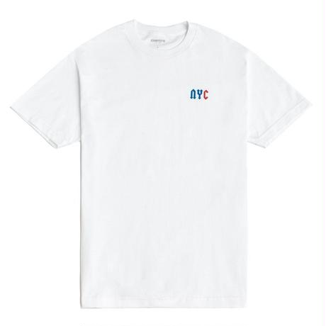 CHRYSTIE NYC C LOGO T-SHIRT / WHITE